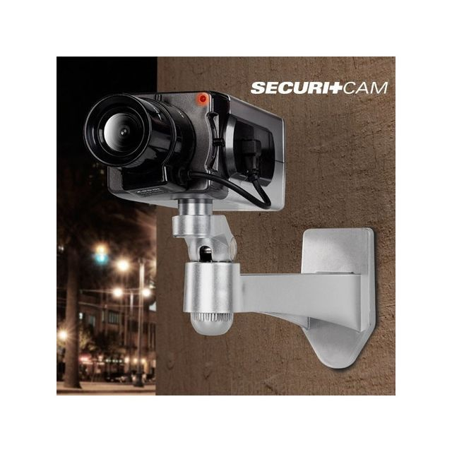 bitblin fausse cam ra de surveillance securitcam t6000. Black Bedroom Furniture Sets. Home Design Ideas
