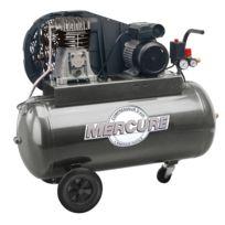 Mecafer - Mercure - Compresseur bicylindrique à courroie 100L 2HP