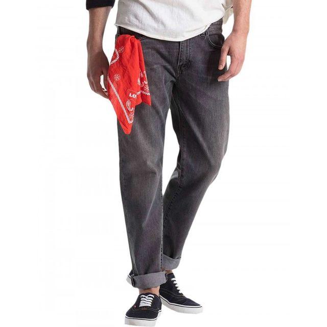 862e12484747f Levi S - Jeans 502 Regular Taper Berry Hill Gris - pas cher Achat   Vente  Jeans homme - RueDuCommerce