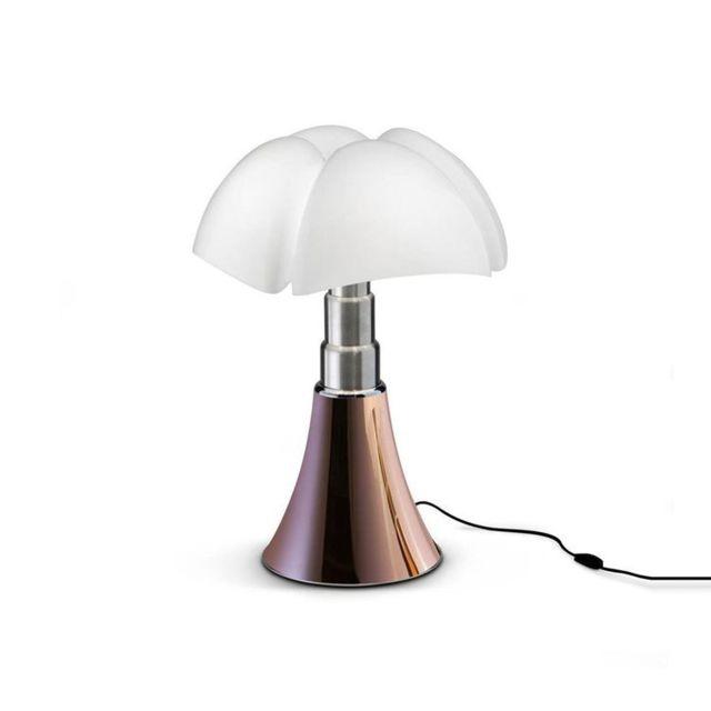 Martinelli Luce Mini Pipistrello-lampe Led H35cm Cuivre - designé par Gae Aulenti