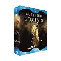 Warner Bros - Coffret guerriers de légende - 300 10 000 Troie Blu-ray