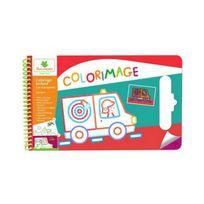 Sycomore - Colorimage Pad Coloriages paillettes transports