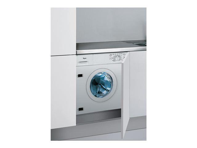 whirlpool lave linge int grable 60cm 6kg a blanc awod060 achat lave linge hublot a. Black Bedroom Furniture Sets. Home Design Ideas