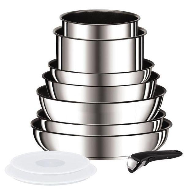 Tefal Tefal Ingenio Preference Batterie De Cuisine 10 Pieces