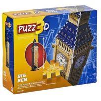 Sambro - Puzzle - 375 Piece Big Ben 3D Foam Backed Puzzle