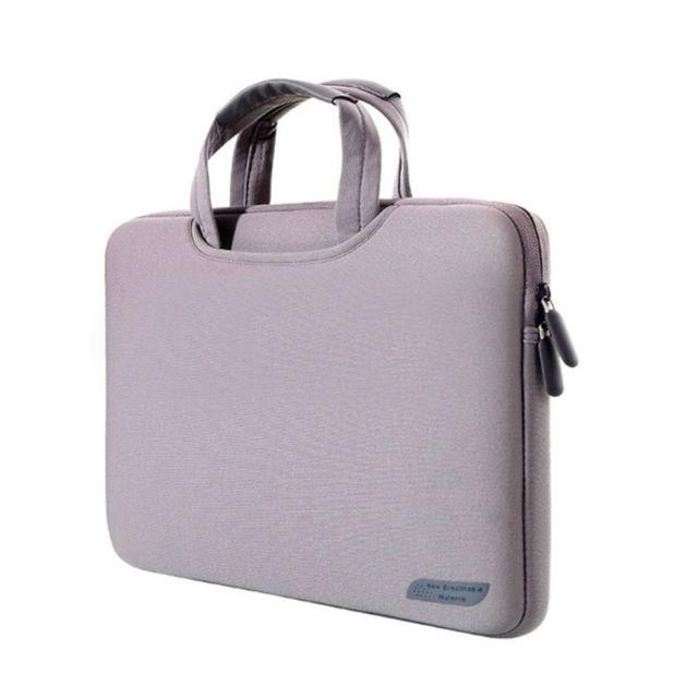 code promo 60145 74d3e Housse Macbook Pro Ordinateur Pc Sacoche Protectrice Résistante 15.4 Pouces  Gris