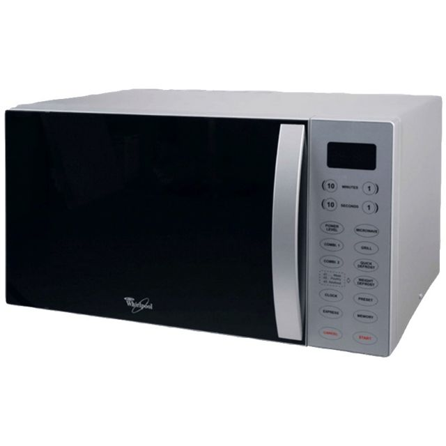 Whirlpool - Four à micro-ondes grill 30 litres 850/1100w ,silver MWO611SL