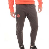 Adidas performance - Pantalon Manchester United Anthracite/Rouge h16