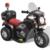 Rocambolesk Superbe Motocyclette enfant à batterie Noir Neuf