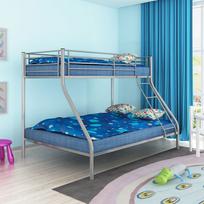 Vidaxl Cadre De Lit Superpose Pour Enfant 200x140 200x90 En Metal