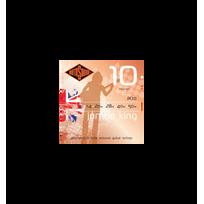 Rotosound - Jeu de cordes guitare acoustique Jumbo King Jk10 10-50