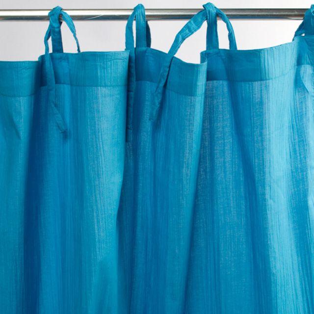mon beau tapis voilage homere 110x250 bleu pas cher achat vente voilage rueducommerce. Black Bedroom Furniture Sets. Home Design Ideas