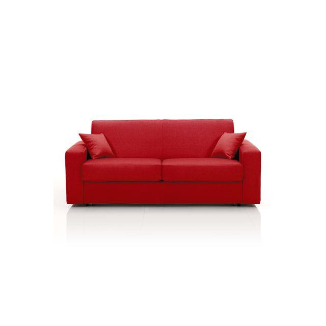 canap en rouge. Black Bedroom Furniture Sets. Home Design Ideas