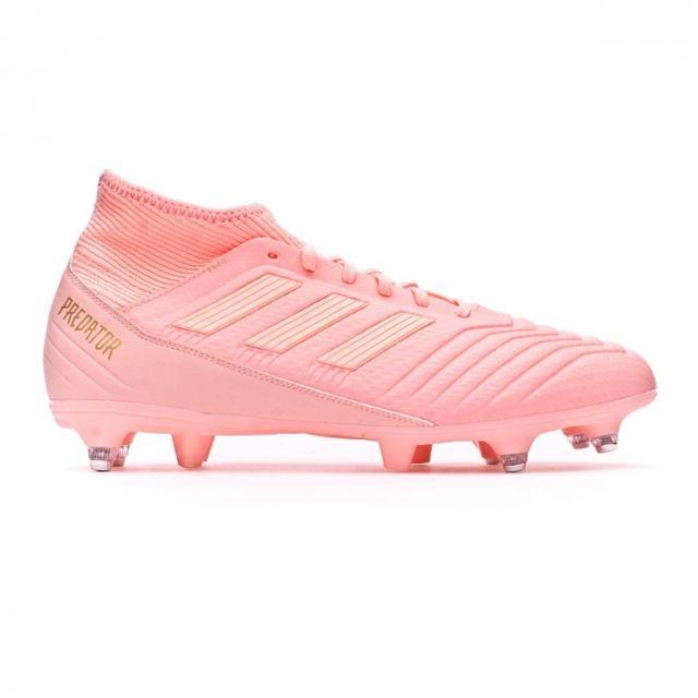 Adidas Predator 18.3 SG Clear orange Trace pink pas cher