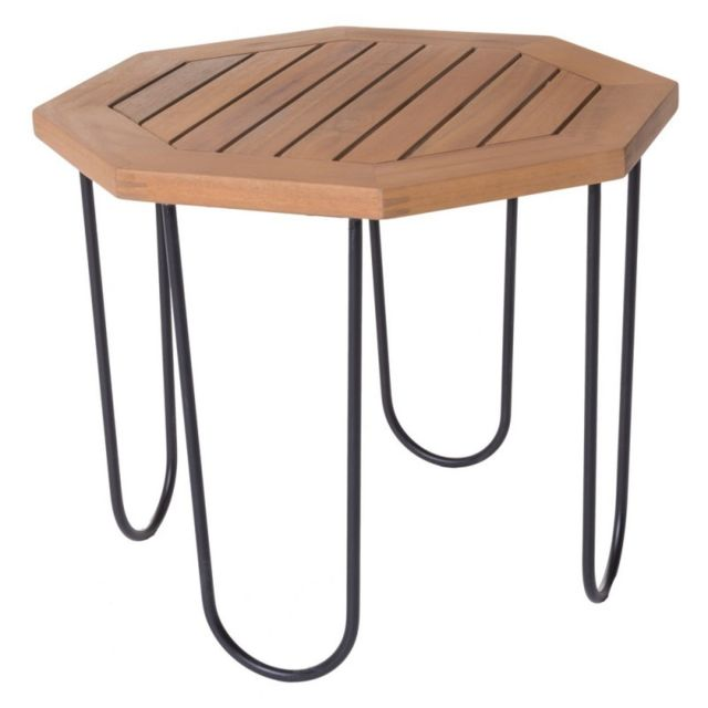Ma Maison Mes Tendances - Table de salon de jardin octogonale 50cm ...