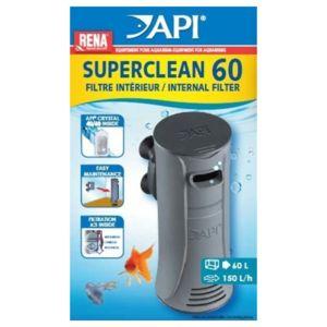 Rena Api - Filtre Intérieur SuperClean 60 pour Aquarium