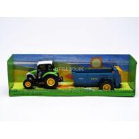 Mondo Motors - Lindner Tracteur avec remorque benne bleu - 1/43 - 61004benne bleu