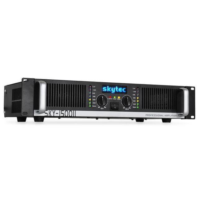 SKYTEC Amplificateur PA Vonyx/2000MKII 2000W bridgeable