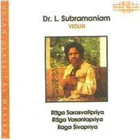 Nimbus World - Doctor L. Subramanian - Ragas sarasvatipriya, Sivapriya & Vacantapriya Boitier cristal