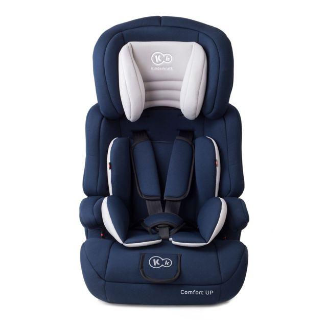 kinderkraft si ge auto groupe 1 2 3 b b volutif 9 36 kg comfort up bleu et blanc pas