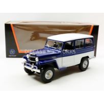Lucky Diecast - 1/18 - Jeep Willys Station Wagon - 92858BL