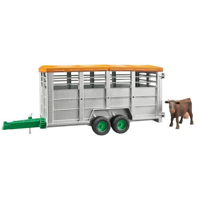 BRUDER 02227 - Bétaillère + 1 Vache