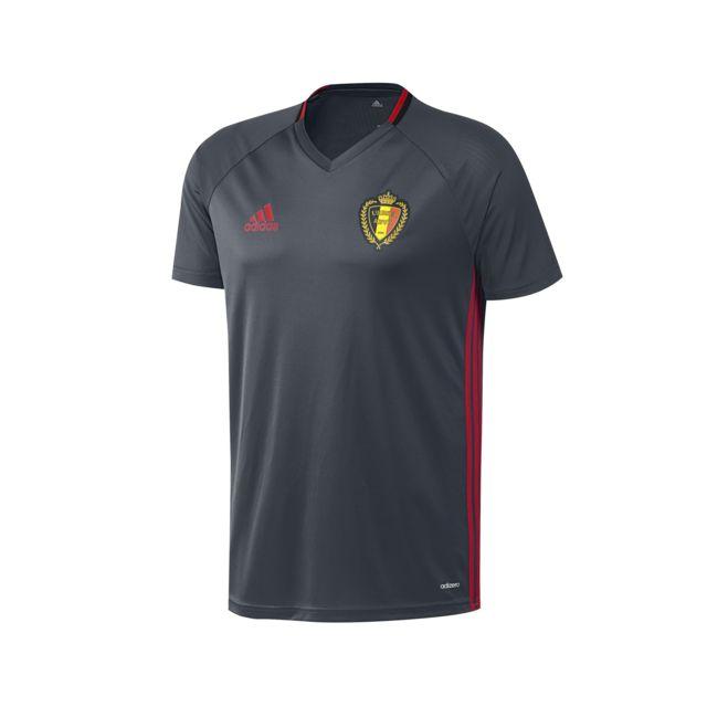Adidas performance - Maillot Training Belgique Noir
