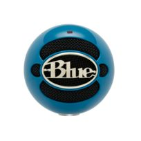 BLUE MICROPHONE - Microphone Snowball Neon Blue USB
