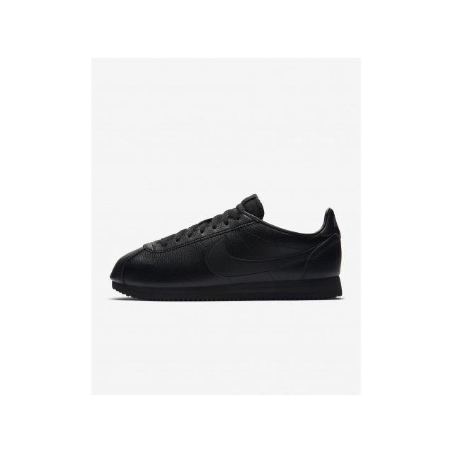 sale retailer e22ed 63fea Nike - Classic Cortez Leather - Age - Adulte, Couleur - Noir, Genre -