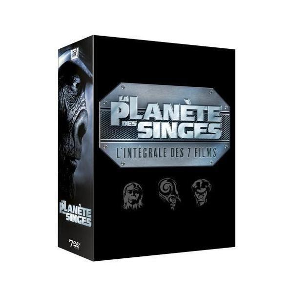 M6 La Planète des singes : L'intégrale 7 films Coffret 7 Dvd