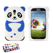"""Muzzano - Coque Souple """"Le Panda"""" Premium Bleu nuit pour Samsung Galaxy S4 Advance"""