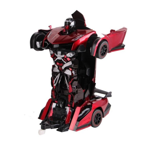 Air Rise Robot Voiture justice fighter rouge