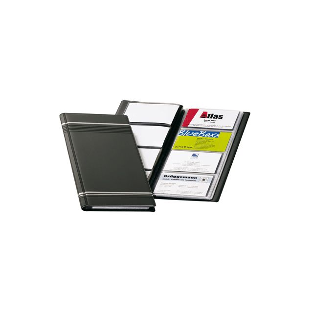 Durable - porte-carte visite 96 cartes visifix gris - pas cher Achat ... ed9e79f512c