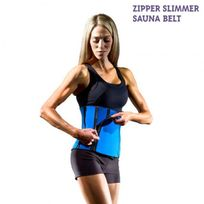 Exclusif Shopping Vip - Ceinture de Sudation Zipper Slimmer Sauna Belt