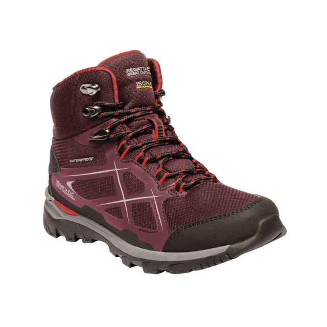 Regatta Chaussures de marche Kota - Femme 41, figue/Rouge Utrg2876