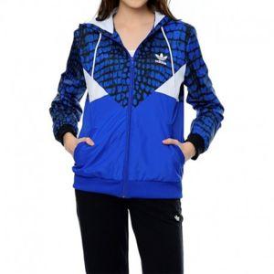 Adidas originals veste coupe vent colorado bleu femme adidas pas cher achat vente blouson - Veste coupe vent adidas femme ...