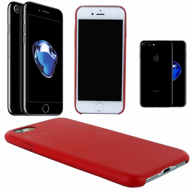 coque arriere iphone 7 rouge