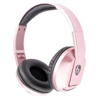 Wewoo - Pour iPhone / Samsung / or rose Lg / Htc / Nokia / Téléphone Mobile Blackberry Bandeau Universel Casque Bluetooth Pliant avec Fonction Appel Mains Libres