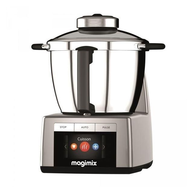 MAGIMIX Robot Cuiseur Multifonction Cook Expert Chromé Mat