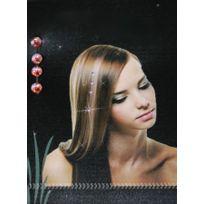 Remy Hair Excellence - Bijoux pour Cheveux - strass en cristal orange