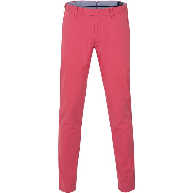 96a0efd9ff781 Ralph Lauren - chino slim fit framboise - pas cher Achat   Vente Pantalon  homme - RueDuCommerce