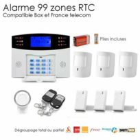 SecuriteGOODdeal - Alarme Animal sans fil de 99 zones Large