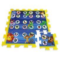 Stamp - Tapis Puzzle en Mousse Lettres et Animaux