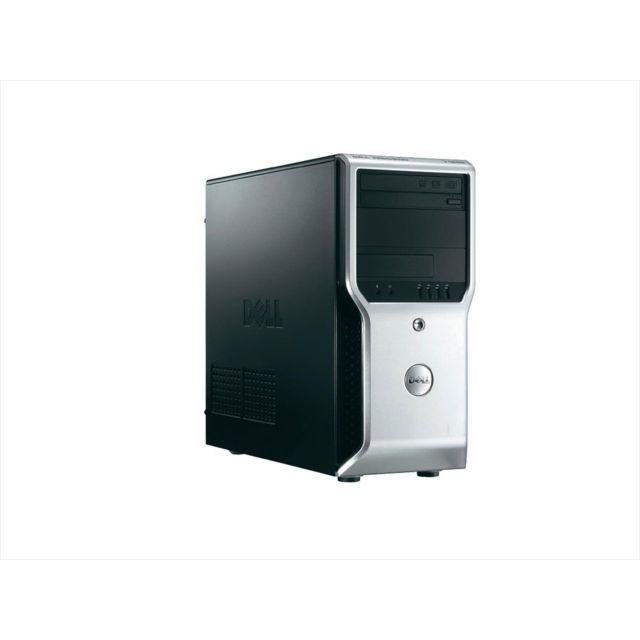 DELL - Precision T1600 - Tour - Intel Xeon E31225 3.10 Ghz - RAM 8 Go - HDD 250Go SATA - DVD+/-RW - Nvidia Quadro 600 - Windows 7 Professionnel 64 bits
