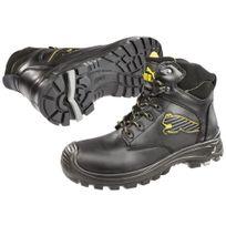 Puma - Chaussures de sécurité montante Borneo Black Mid S3 Src