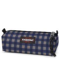 Eastpak - Trousse simple Benchmark 20 cm checksange blue