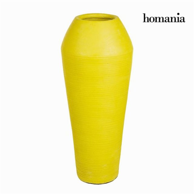 Homania Vase Jaune - Collection Ellegance by