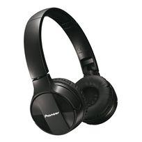 PIONEER - Casque Supra-Aural MJ553 Bluetooth - Noir