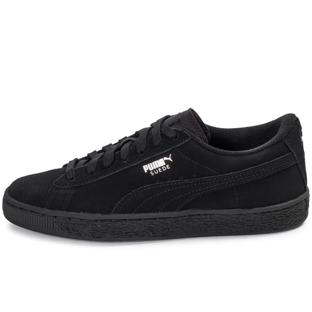 puma suede bleu junior