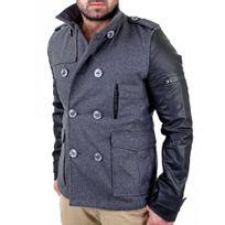Redbridge - Manteau tendance homme Manteau Rb41485 gris